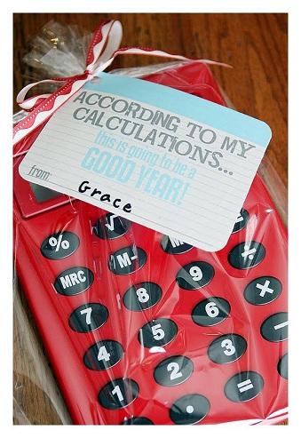 Calculator Gift for Teacher's Day