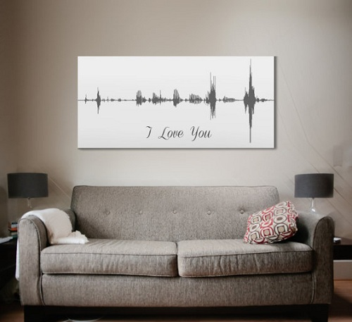 Canvas Art From Your Voice