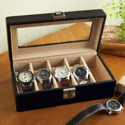 Canvas Watch Boxes