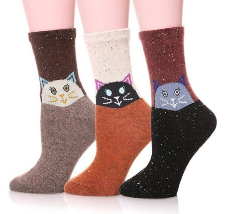 Cat's Eye Thermal Socks