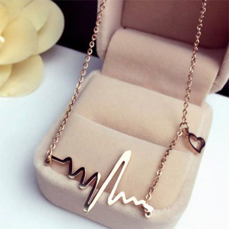 Charming Necklace & 25 Best u0026 Cute Gifts for Girlfriend To Impress Her | Styles At Life