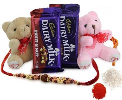 Chocolate Gift Hamper for Rakshabandhan