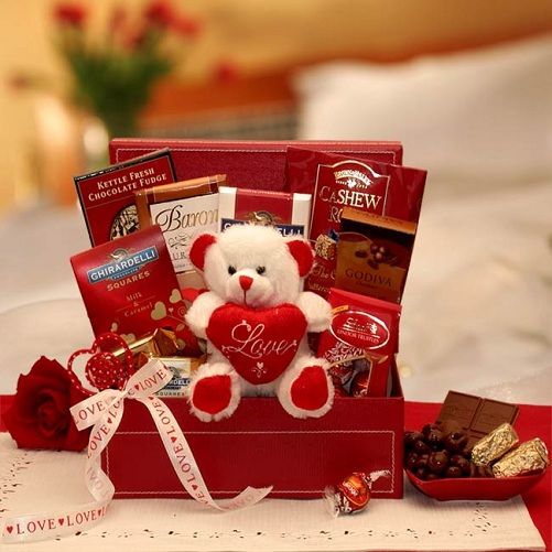 Chocolate Basket for Valentine's Gift