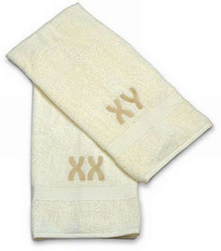 Chromosome Towels for Valentines Gift