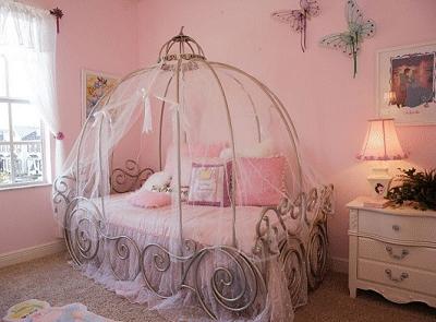 Cinderella Theme Bedroom Design
