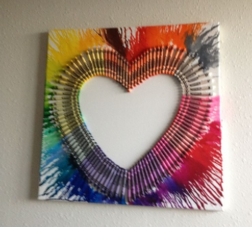Color Blast Love Frame
