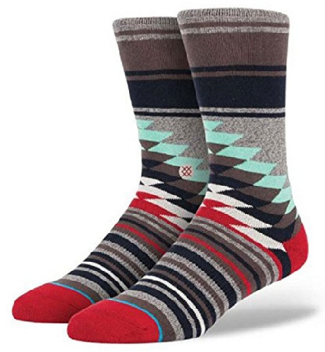 Colorful Patterned Mens Socks