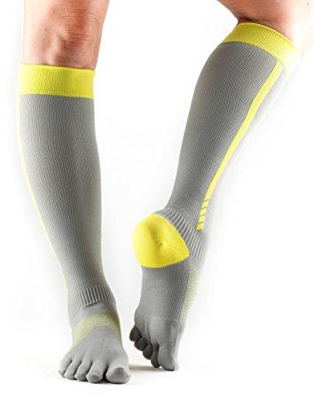 Compression Toe-Socks Over The Calf