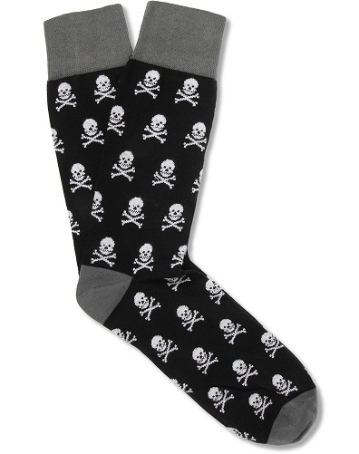 Corgi Skull Pattern Lightweight Cotton Sock brands