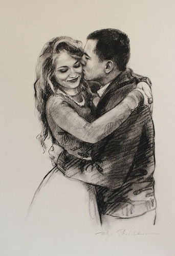 Couple Sketch for Her