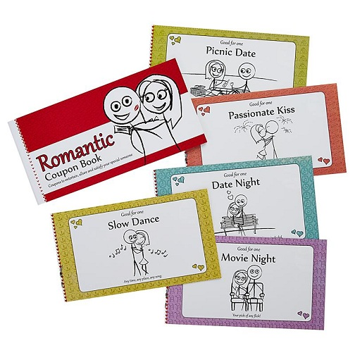 Coupon Book for Valentine's Day Gift