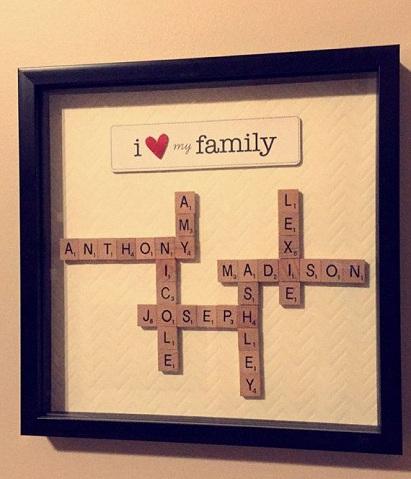 Crossword Frame