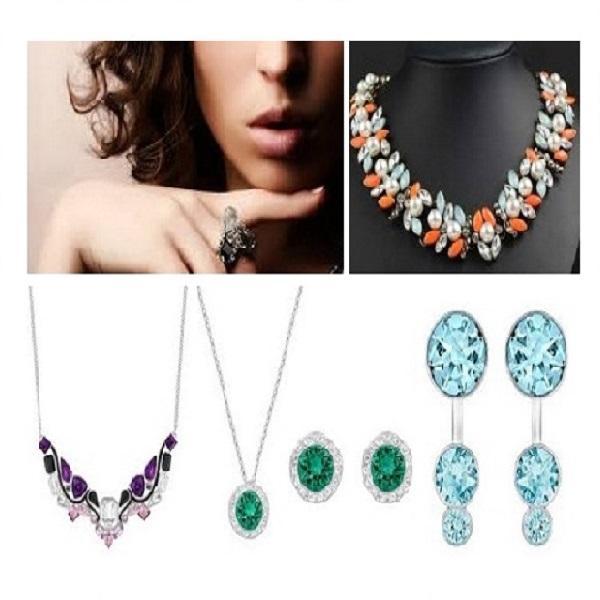 Crystal Jewellery Designs