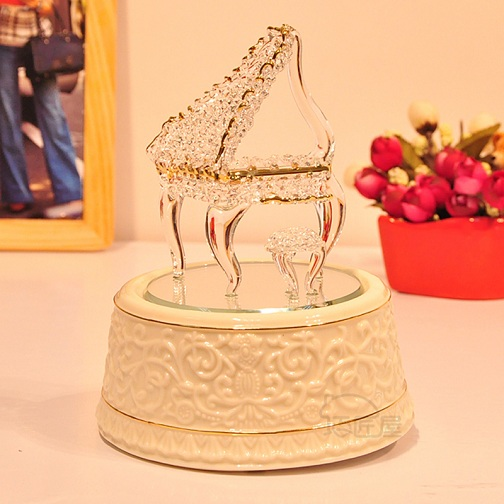 Crystal Piano for Gifts