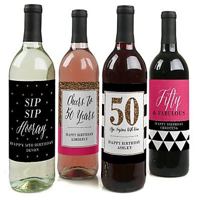 Custom Wine Bottle Labels