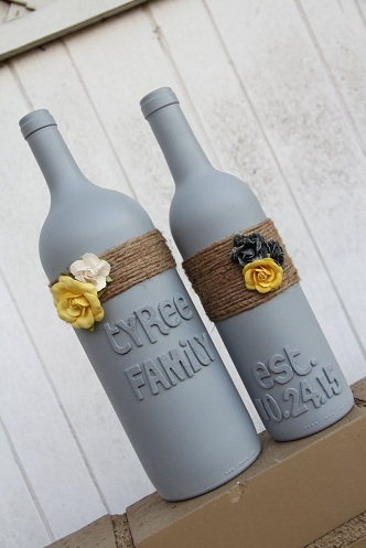 Custom Wine Bottles