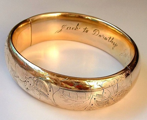 Customized Bangle Gift for Her