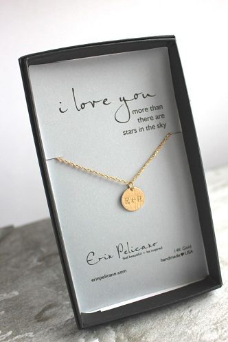 Customized Chain Anniversary Gift For Her