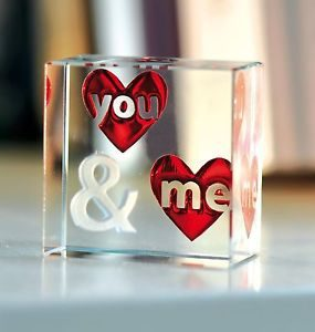 Customized Glass Love Gift