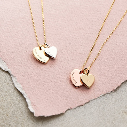 Customized Heart Pendant Gift for Her