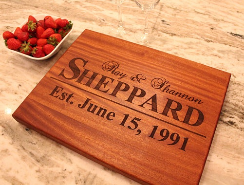Customized Wooden Chopping Board Gift For Her