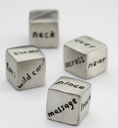 Customized Dice for Valentine's Gift