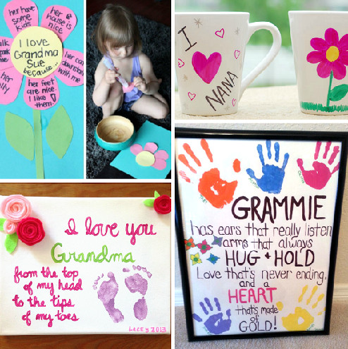 DIY Gifts for Grandma