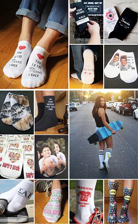 Design Printed Socks