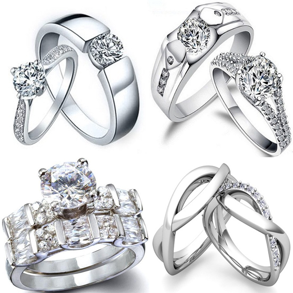 Couple Diamond Rings