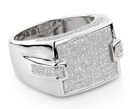 Diamond Ring for Him