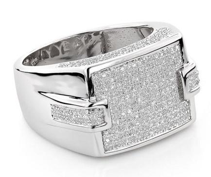 Diamond Ring for Him