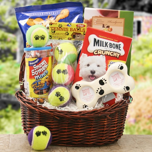 Doggy Gift Basket
