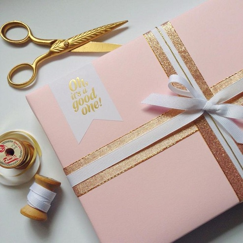 Double Lining Gift Wrap