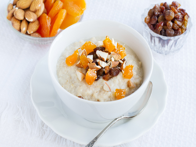 Dried Fruits with Milk