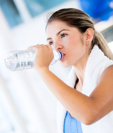 To remove stretch marks fast drink water