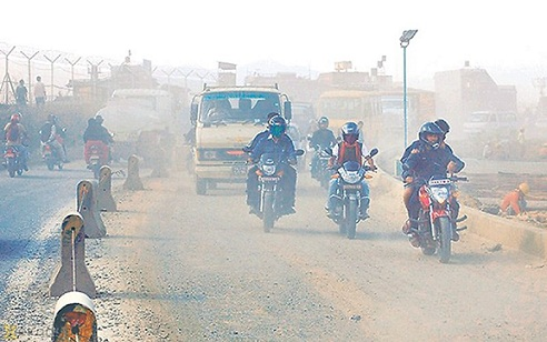Dust in Air Pollutants List