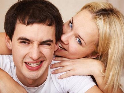Where to Kiss a man On Earlobe