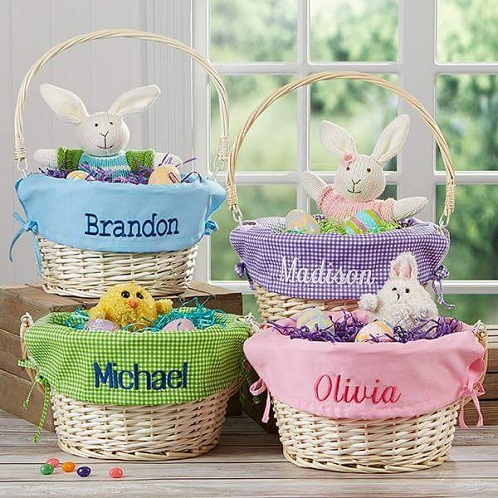 9 latest and best easter gift ideas with images styles at life making lovely easter baskets are surely wonderful easter gifts to give out these are especially great for toddlers as they love soft toys negle Images
