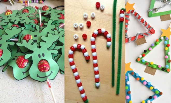 Easy Christmas Crafts For Kids And Adults