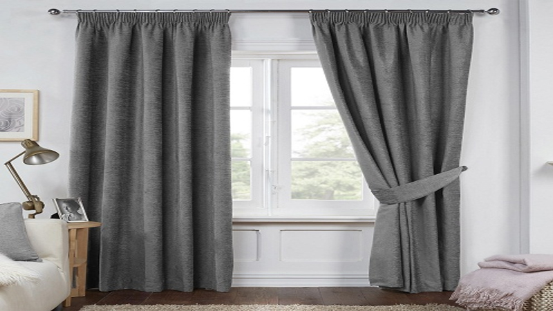 Grey Curtains Design
