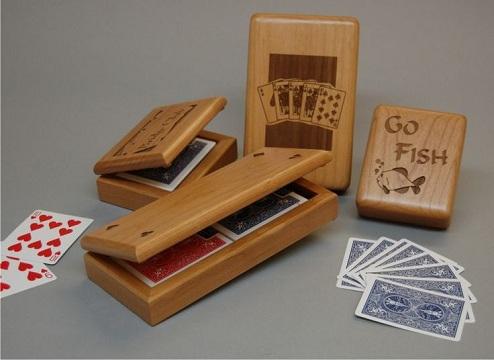 Engraved Card Box