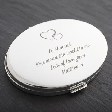 Engraved Compact for Her