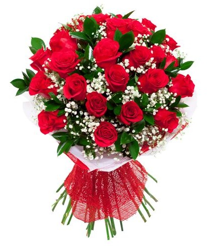 Enigmatic Red Roses Sorry Gifts