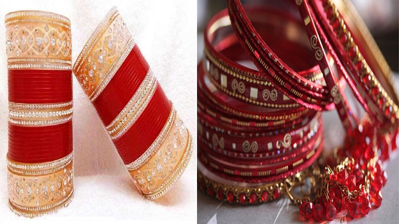 Red Bangles Designs
