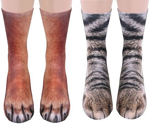 Fancy Animal Leg Socks