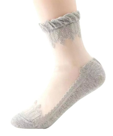 Fancy Lace Socks