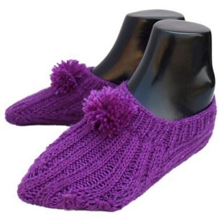 Fancy Wool Socks