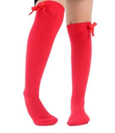 Flat Knit School Socks