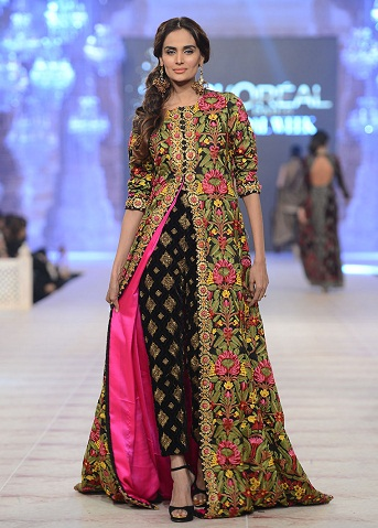 15 beautiful pakistani frocks for women in fashion