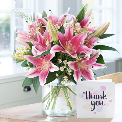 Flower Vase Thank You Gift